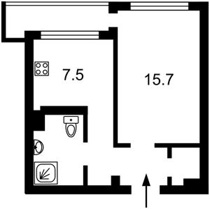 Квартира Лесі Українки бул., 36б, Київ, Z-606147 - Фото2