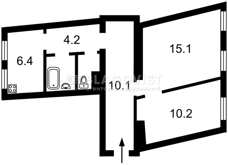 Квартира Z-618971, Андреевский спуск, 11, Киев - Фото 4