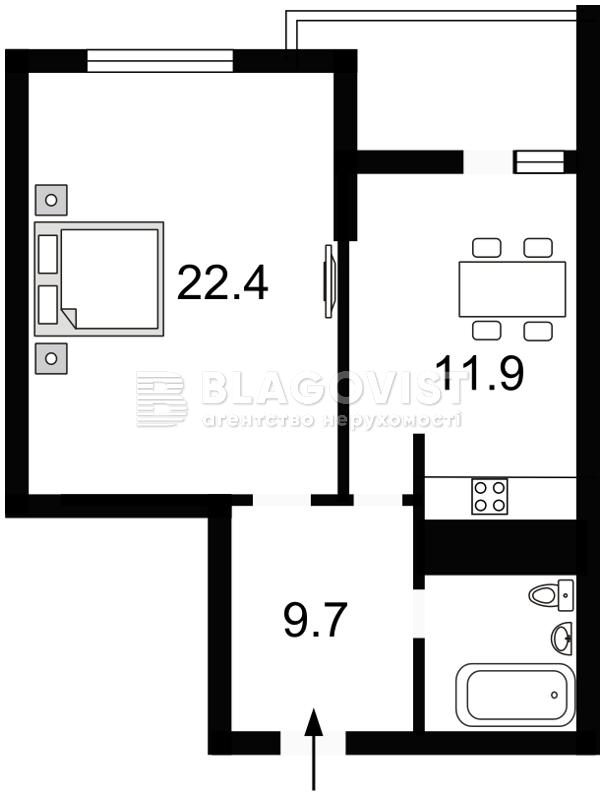 Квартира X-14334, Львовская, 22а, Киев - Фото 4