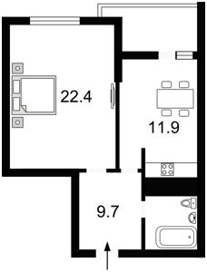 Квартира Львовская, 22а, Киев, X-14334 - Фото2