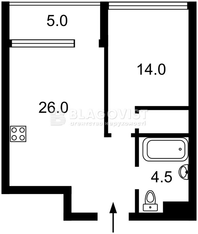 Квартира A-111016, Предславинська, 57, Київ - Фото 6