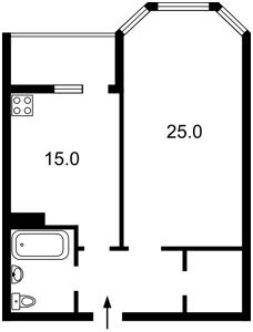 Квартира Коновальца Евгения (Щорса), 34а, Киев, Z-635795 - Фото2