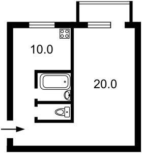Квартира Донецкая, 3, Киев, E-39304 - Фото2