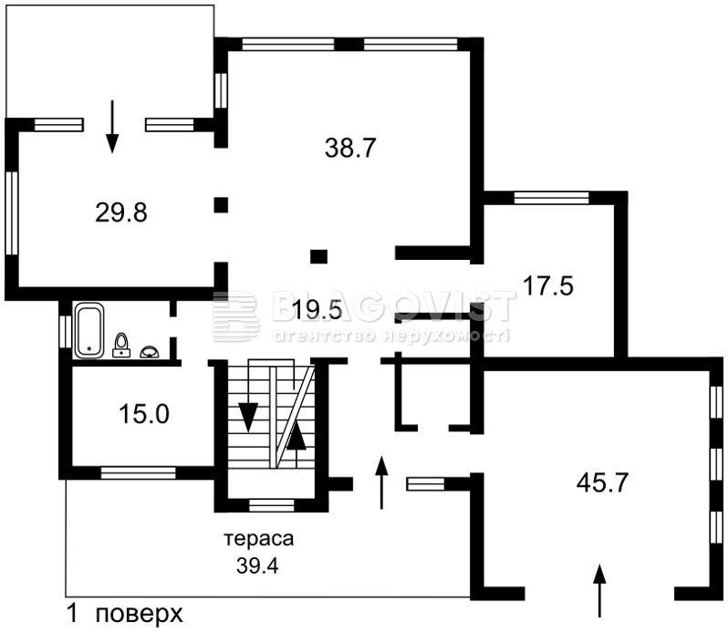 Дом C-107381, Ореховая, Петровское (Бориспольский) - Фото 6