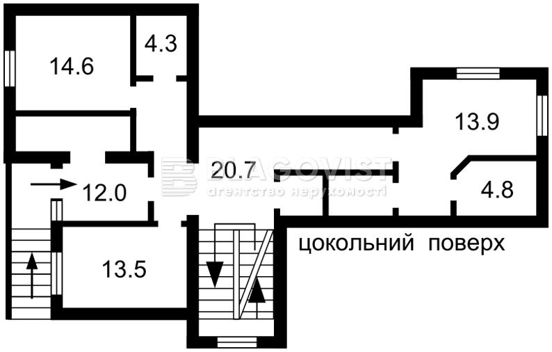 Дом C-107381, Ореховая, Петровское (Бориспольский) - Фото 5