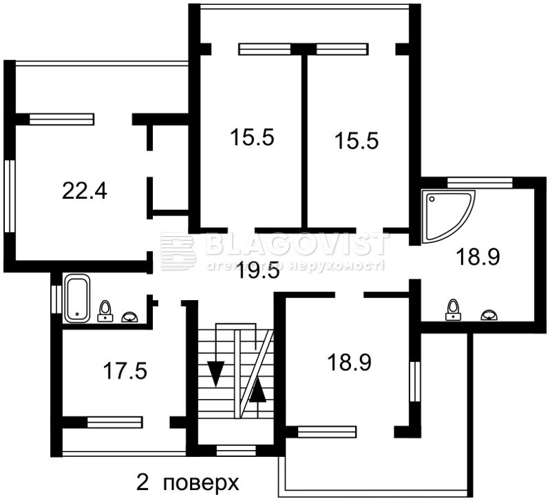 Дом C-107381, Ореховая, Петровское (Бориспольский) - Фото 7