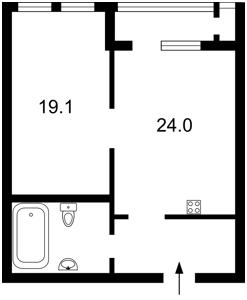 Квартира Саксаганського, 121, Київ, C-107286 - Фото 2