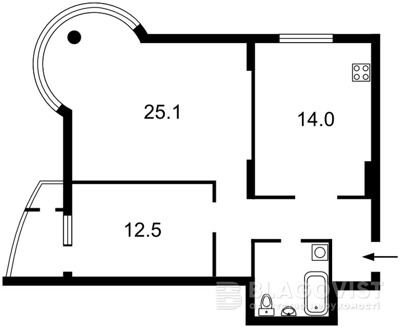 Квартира Z-574840, Автозаводська, 29а, Київ - Фото 3