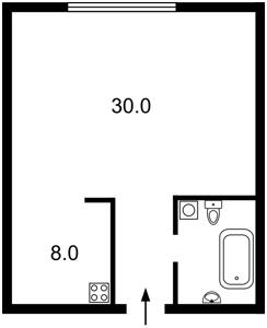 Квартира Регенераторная, 4 корпус 2, Киев, Z-625087 - Фото2