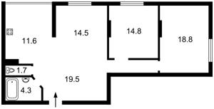 Квартира M-37139, Тбіліський пров., 1, Київ - Фото 4