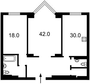 Квартира Драгомирова Михаила, 14а, Киев, H-45970 - Фото2
