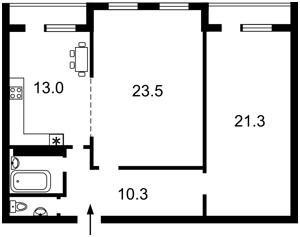 Квартира H-46500, Клавдіївська, 40г, Київ - Фото 4