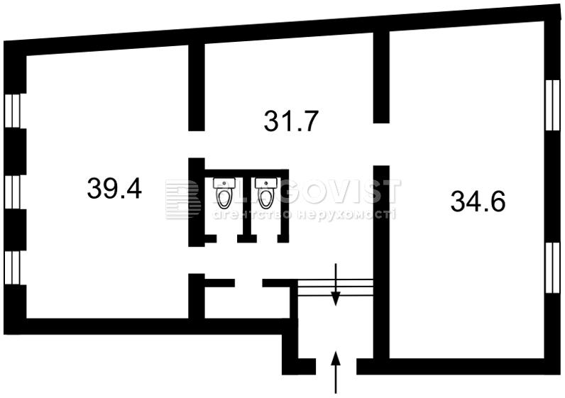 Офис, M-37195, Бульварно-Кудрявская (Воровского), Киев - Фото 3