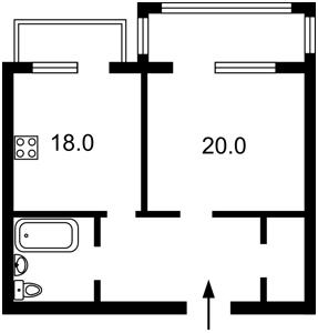 Квартира Липкивского Василия (Урицкого), 37б, Киев, Z-633959 - Фото2