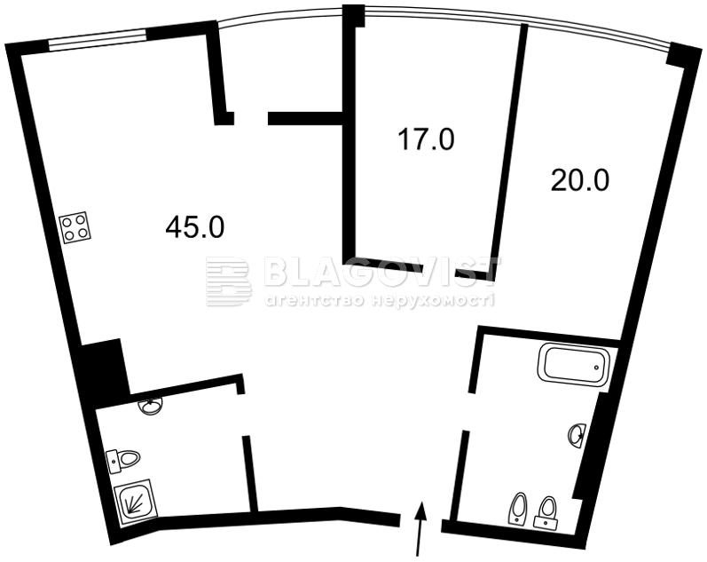 Квартира H-45368, Бусловская, 12, Киев - Фото 6
