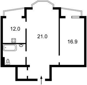 Квартира Турівська, 29, Київ, Z-367239 - Фото2