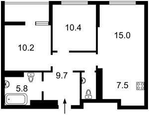 Квартира Тираспольська, 58, Київ, Z-622087 - Фото2