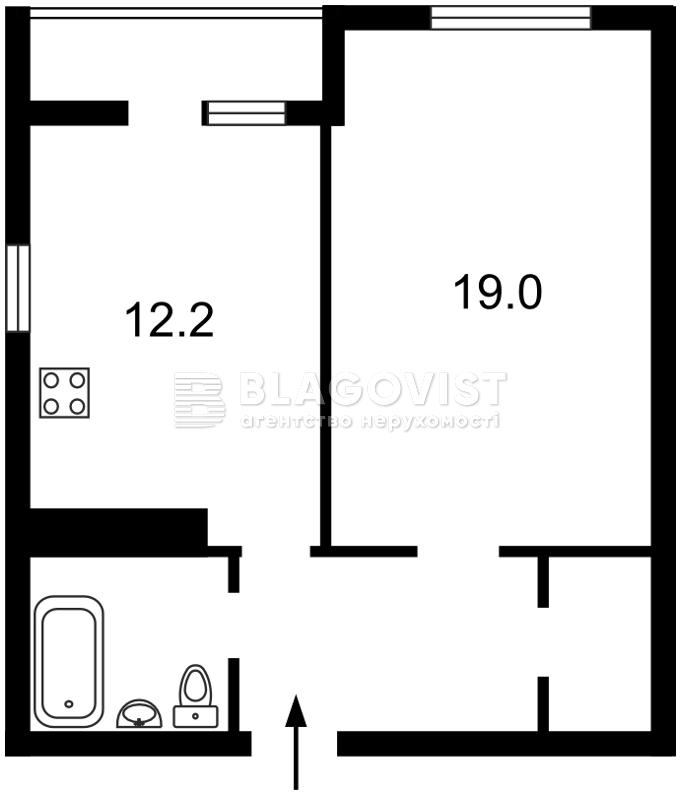 Квартира X-13845, Радужная, 21, Киев - Фото 3