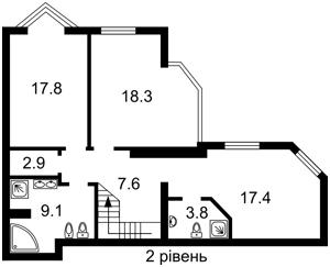 Квартира Саперное Поле, 14/55, Киев, D-36013 - Фото 3