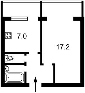 Квартира Оболонський просп., 40, Київ, Z-1614584 - Фото2