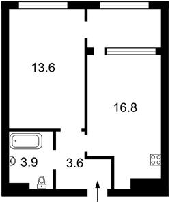 Квартира Дніпровська наб., 16г, Київ, R-32104 - Фото2