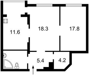 Квартира Днепровская наб., 1а, Киев, R-32082 - Фото2