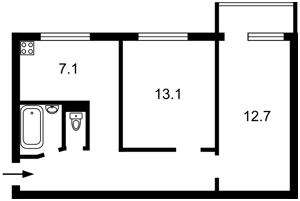 Квартира Голосіївський проспект (40-річчя Жовтня просп.), 126/1, Київ, R-32084 - Фото2