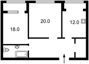 Квартира Героев Сталинграда просп., 18б, Киев, F-43041 - Фото 2