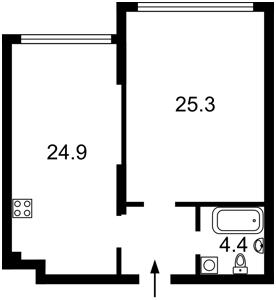 Квартира Оболонський просп., 26, Київ, R-8311 - Фото2