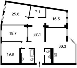 Квартира Соломенская, 15а, Киев, D-33496 - Фото2