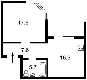 Квартира Гришко Михаила, 9, Киев, R-11862 - Фото2