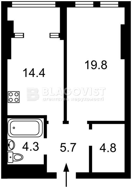 Квартира Z-644893, Победы просп., 11 корпус 2, Киев - Фото 4