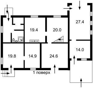 Дом Нектарная (Комсомольская), Киев, Z-651197 - Фото2