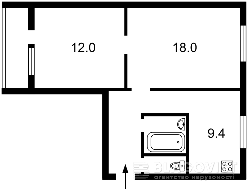 Квартира B-70680, Перемоги просп., 12, Київ - Фото 4