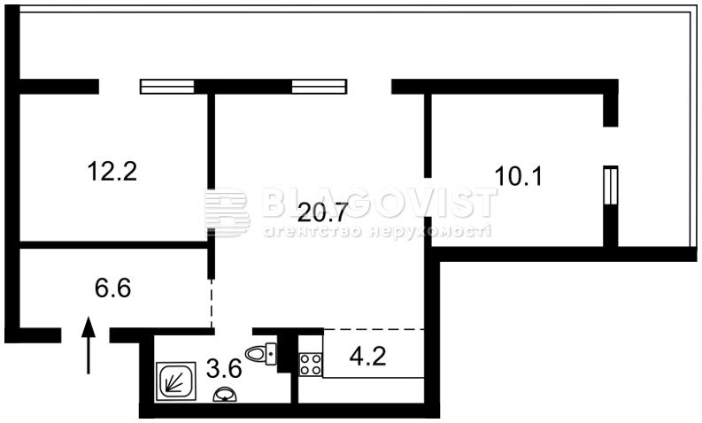 Квартира H-46712, Васильковская, 100а, Киев - Фото 5