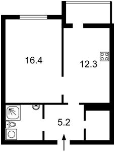 Квартира Филатова Академика, 2/1, Киев, R-27398 - Фото2