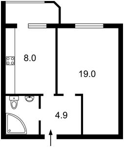 Квартира Рибальська, 8, Київ, Z-398216 - Фото2