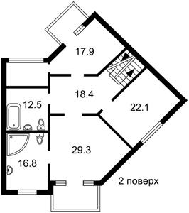 Будинок Пайова, Козин (Конча-Заспа), R-25918 - Фото 3
