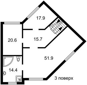 Будинок Пайова, Козин (Конча-Заспа), R-25918 - Фото 4