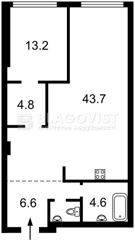 Квартира Z-662121, Перемоги просп., 55а, Київ - Фото 3