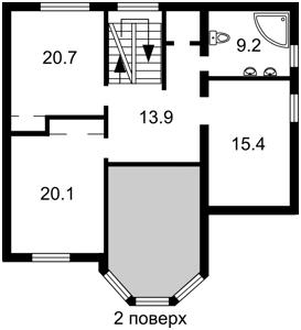 Будинок Красилівка (Броварський), R-32848 - Фото 3
