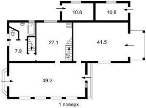 Будинок Козаровичі, F-43152 - Фото 3