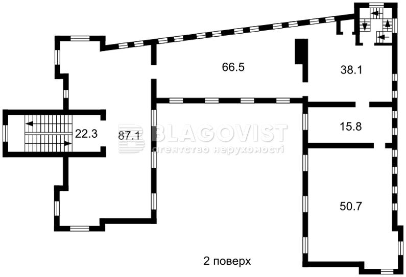 Нежилое помещение, A-111133, Чумацкий шлях, Гостомель - Фото 4