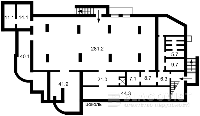 Отдельно стоящее здание, F-43182, Толстого Льва, Софиевская Борщаговка - Фото 2