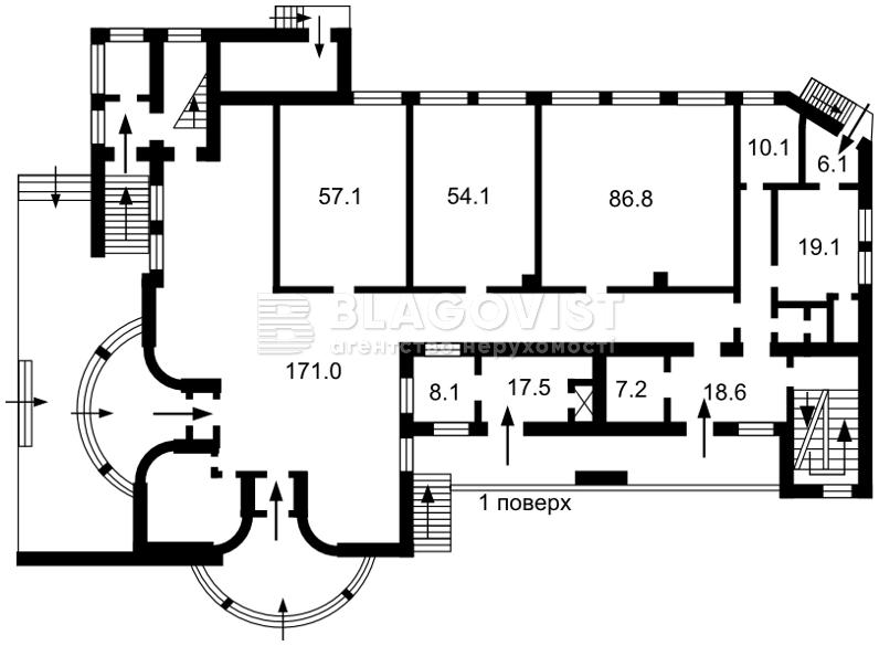 Отдельно стоящее здание, F-43182, Толстого Льва, Софиевская Борщаговка - Фото 3