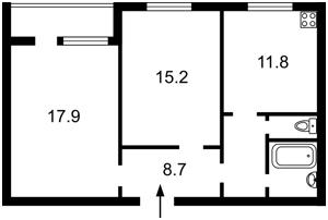 Квартира Котовського, 47, Київ, Z-546369 - Фото2