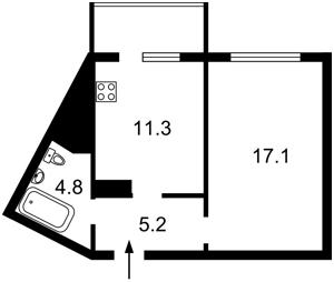 Квартира Урловская, 32, Киев, F-43201 - Фото2