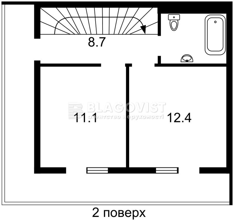 Дом H-45498, Франко Ивана, Вишневое (Киево-Святошинский) - Фото 3