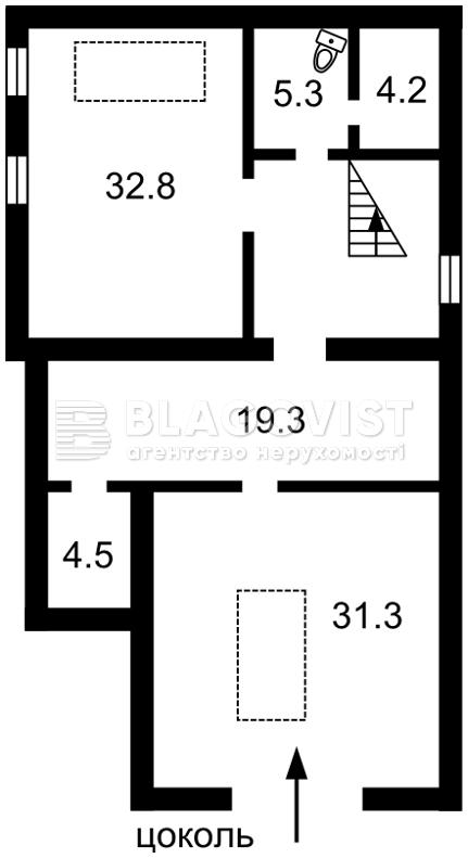 Дом C-107623, Хлепча - Фото 3