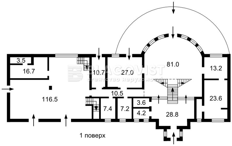 Дом H-46836, Днепровская, Стоянка - Фото 3